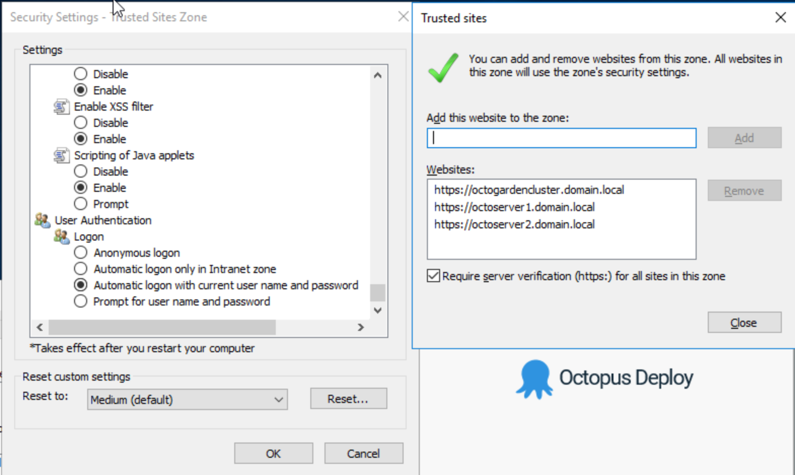 Client Security