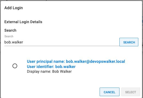 successful user lookup