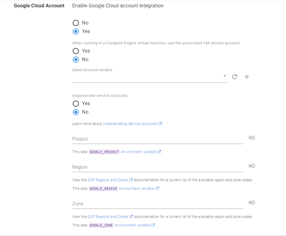 Google Cloud Account